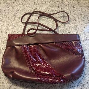 Vintage Salvatore Ferragamo snakeskin purse